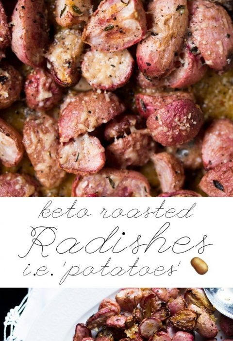 Low Carb & Keto Roasted Radishes i.e. 'Potatoes' 🥔 #keto #ketorecipes #lowcar...