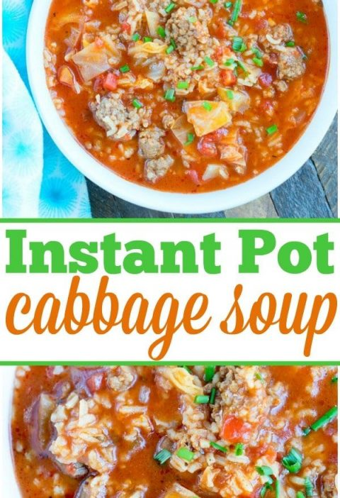 Ready for this easy pressure cooker cabbage soup recipe? If you love your Instan...