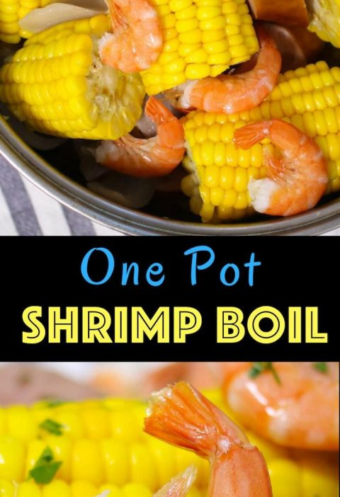 Shrimp Boil is an easy and flavorful southern feast to feed a crowd! Shrimp is b...