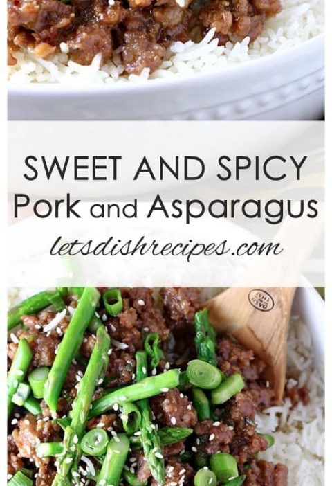 Sweet and Spicy Pork and Asparagus