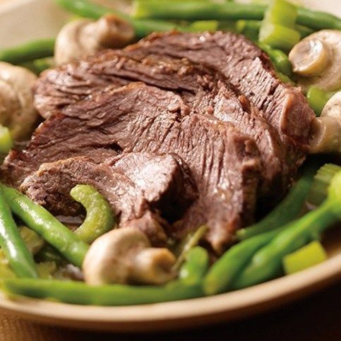 The Front Burner™: Spiced Crockpot Roast Beef | Medifast Weight Loss Blog | Ti...