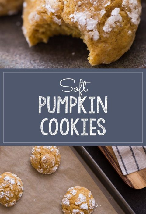 The softest, fluffiest, most tender pumpkin cookie I have ever tasted! Melts in ...