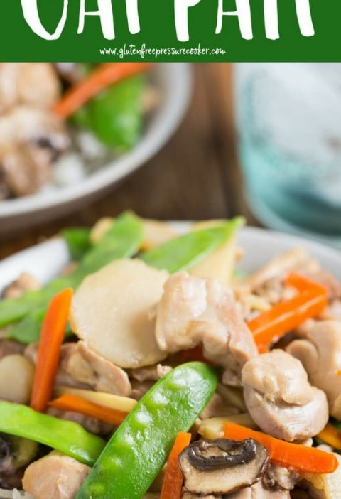 This Pressure Cooker Moo Goo Gai Pan is so easy to cook, your whole family will ...