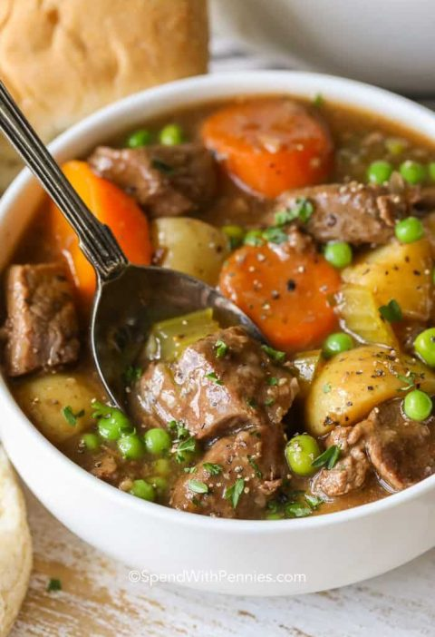 This is the most comforting beef stew recipe you will every try. It is just like...
