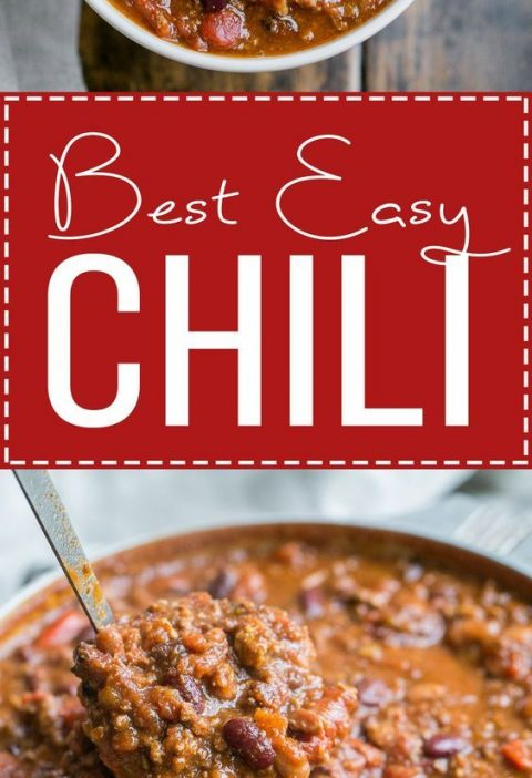 This recipe for My Best Chili is a major favorite around here! It's a hearty...