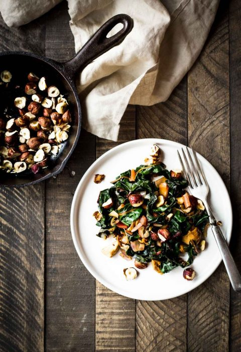 This salad has everything going for it. Meaty chanterelle mushrooms are cooked u...