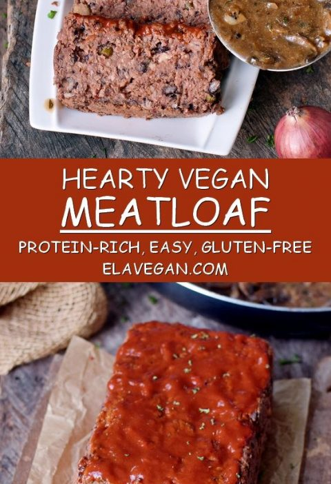 This vegan meatloaf is not only a great recipe for Christmas but also for any ot...