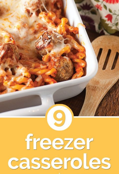 9 Freezer Casseroles for Cold Winter Nights