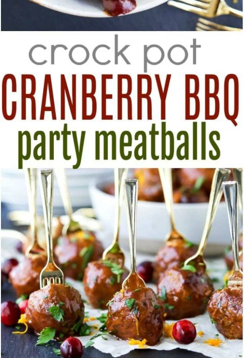 A delicious crockpot meatballs recipe and the ultimate easy appetizer for the ho...
