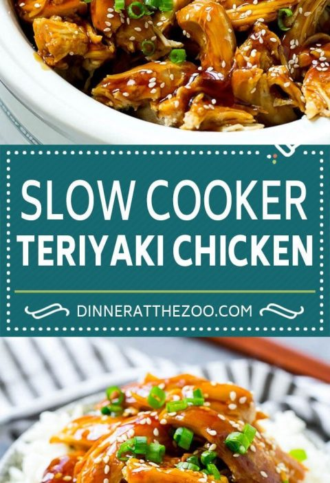 Astonishing Slow Cooker Teriyaki Chicken Recipe | Crock Pot Teriyaki Chicken | Slow Cooker C....