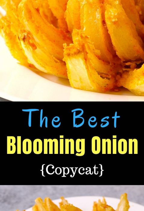 Blooming onion is a delicious and crispy appetizer, rivalling Outback Steak bloo...