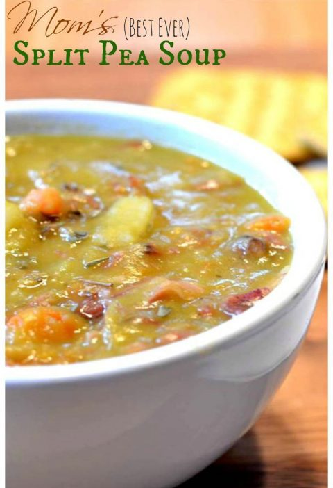 Carrots, onions, potatoes, split peas and ham blend perfectly together in this r...