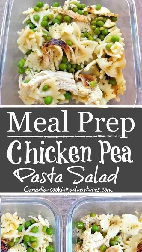 Chicken Pea Pasta Salad