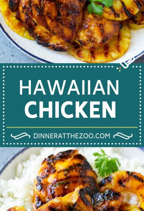 Hawaiian Chicken Recipe | Grilled Chicken | Pineapple Chicken #chicken #grilling...