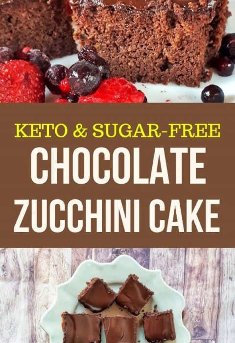 Keto & Low Carb Chocolates Zucchini Cake