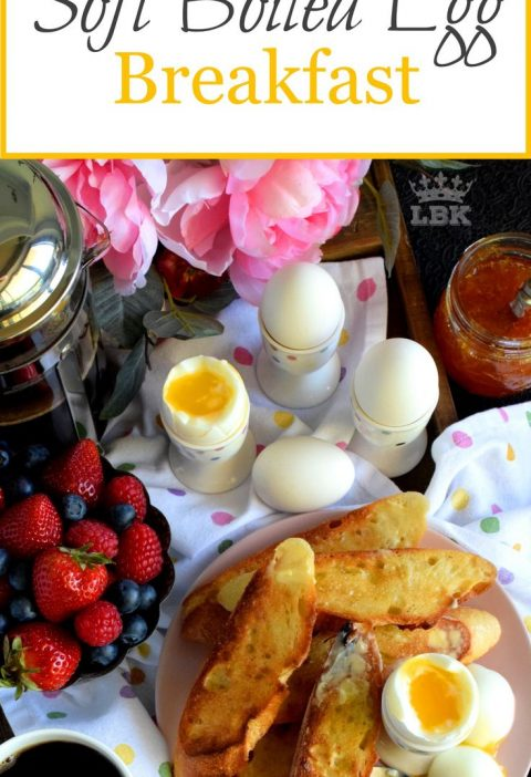 Old Fashioned Soft Boiled Egg Breakfast - Just because something is old fashione...