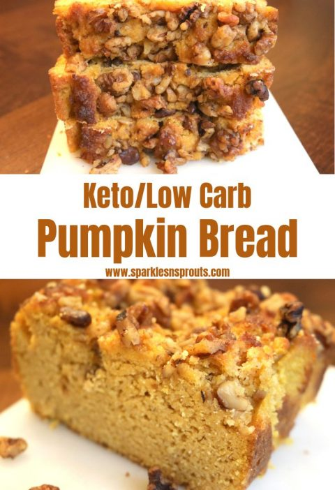 Pumpkin Bread (Keto/Low Carb)