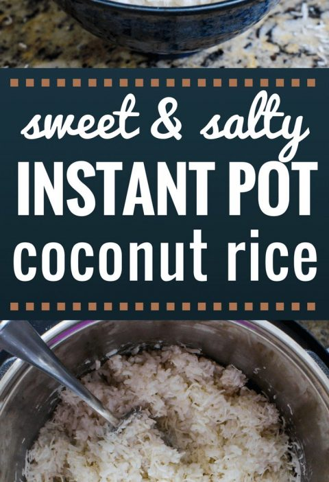 Sweet and Salty Instant Pot Coconut Rice