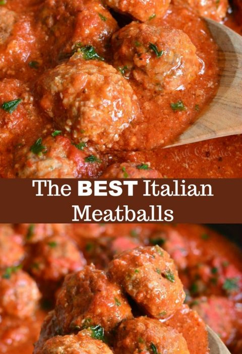 The BEST Italian Meatballs Recipe. This is the best classic meatballs recipe and...