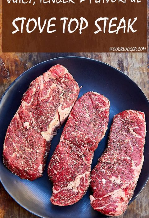 The best tasting, easy to make, tender and very juicy steak. This stove top stea...