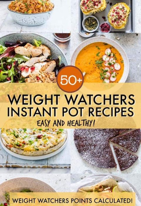 This collection of Healthy Instant Pot Recipes includes quick, easy and so good-...