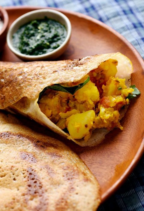 A properly made crisp and savory Indian dosa is wonderfully delicious, and fairl...
