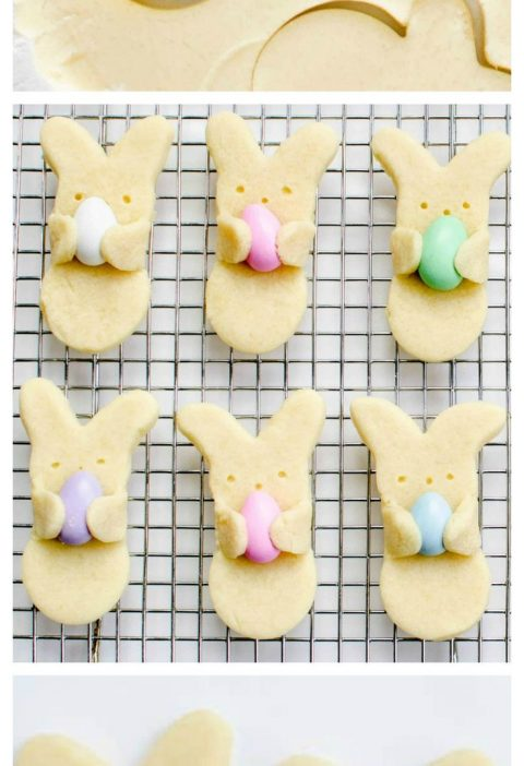 "Adorable Easter Bunny ""Hug"" Cookies"