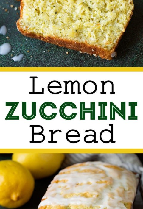Lemon Zucchini Bread - This is one of my new favorite ways to use up all that su...