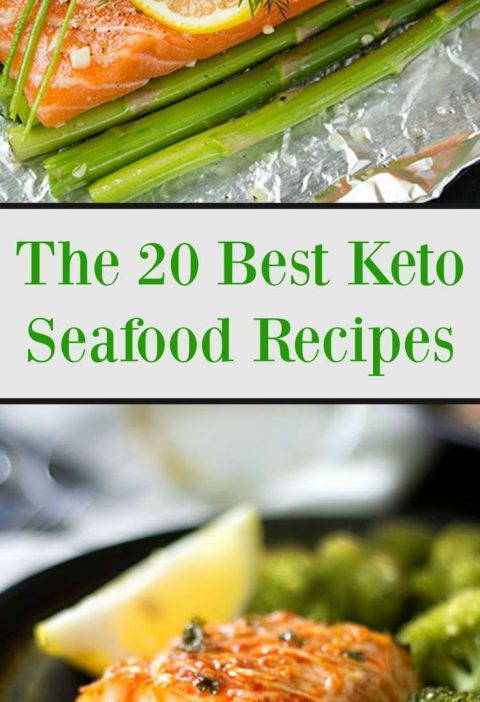 The Best 20 Keto Seafood Recipes