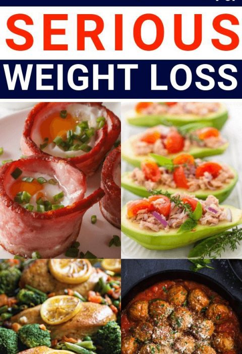 The Ultimate Low Carb Diet Meal Plan for Women: 40 Low Carb Recipes for Serious Weight Loss