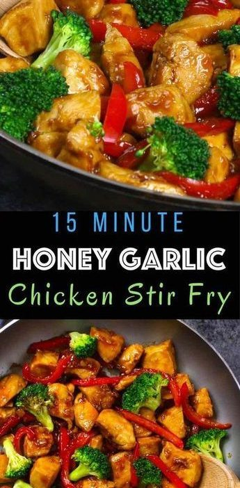 The easiest, most unbelievably delicious Honey Garlic Chicken. And it'll be on...