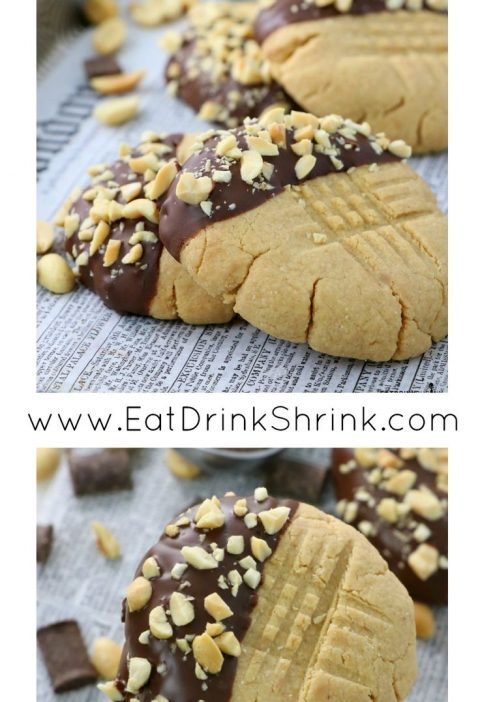 3 Ingredient Almond Flour Peanut Butter Cookies