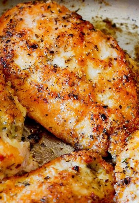 Easy Pan-Seared Chicken