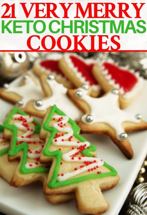 Keto Christmas Cookies! 21 Easy Low Carb Holiday Treats