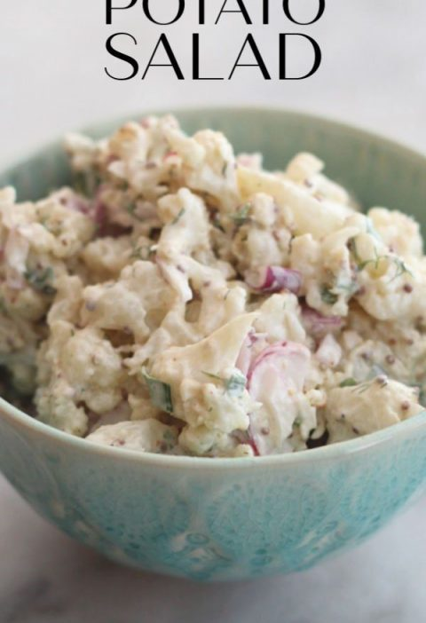 Swap lightly roasted cauliflower for the potatoes makes the base for this delici...