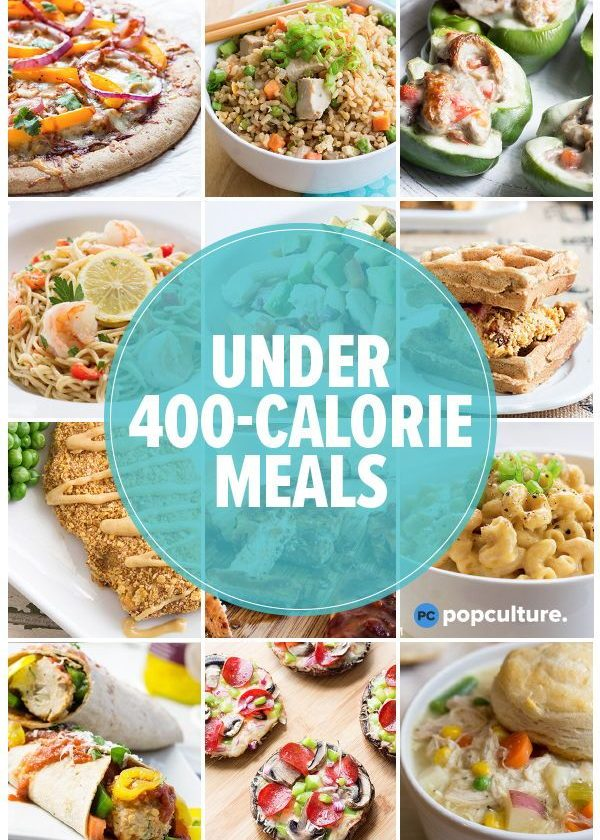 40 Healthy Dinners Under 400 Calories
