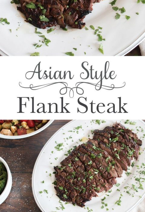 A flavour packed flank steak thanks to a surprisingly simple marinade that you q...