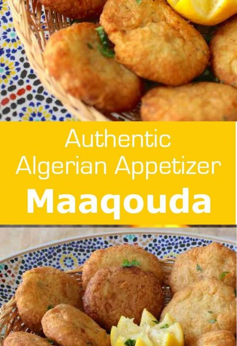 Maaqouda is a potato fritter recipe that is popular throughout North Africa. It ...