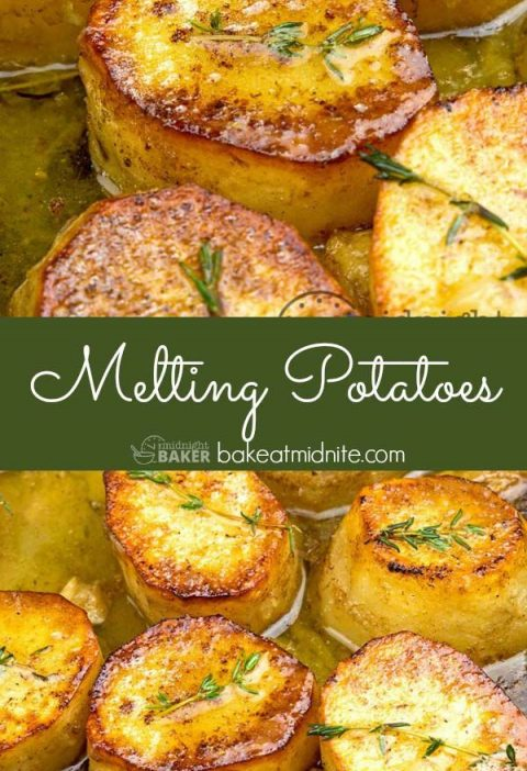 Potatoes that melt in your mouth. Yummy served with roast beef.#potatoes #recipe...