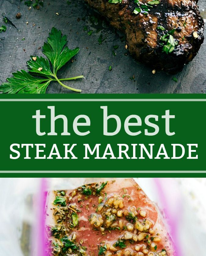 The BEST EVER Grilled Steak Marinade plus tips for grilling the best steak ever!...